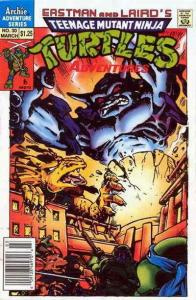 Teenage Mutant Ninja Turtles Adventures (2nd Series) #30 FN; Archie | save on sh