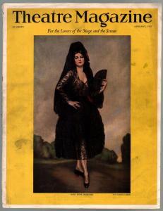 Theatre 1/1927-Anne Robenne-Marion Davies-Paul Robeson-Janet Gaynor-VG
