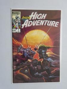 Amazing High Adventure #1, DIRECT EDITION 8.5/VF+, (1984)