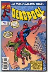 Deadpool #11 1997- Amazing Fantasy #15 cover swipe- VF