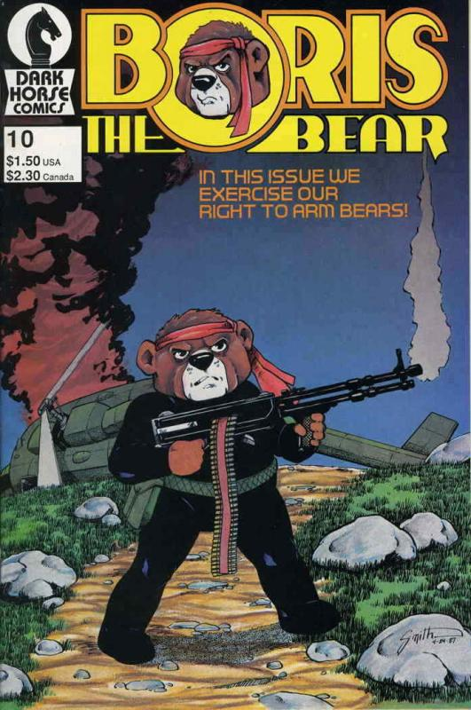 Boris the Bear #10 VF/NM; Dark Horse | save on shipping - details inside