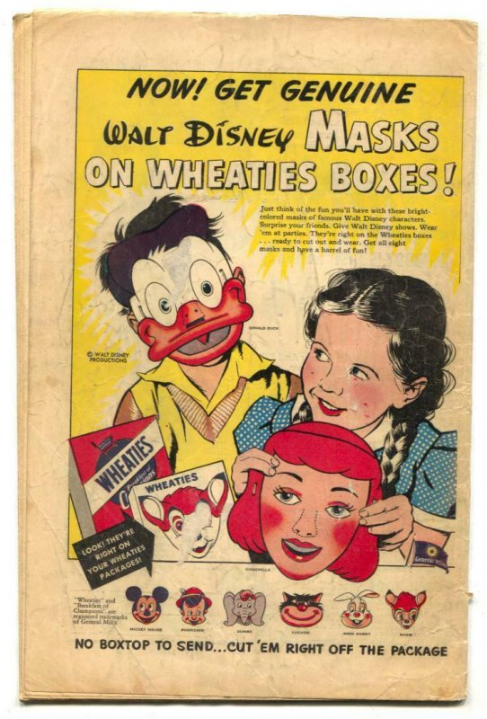 Blondie Comics #33 1951- Harvey Golden Age VG