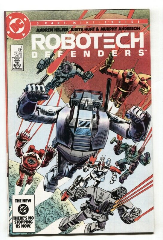 Robotech Defenders #1 1985 DC comic book First issue Macross NM-