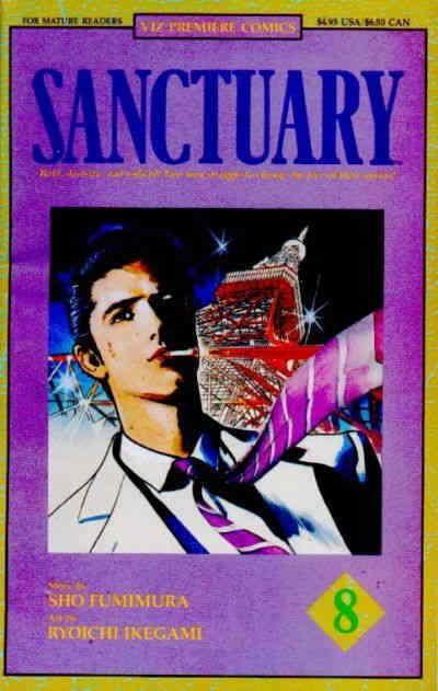Sanctuary Part 1 #8 VF/NM; Viz | save on shipping - details inside