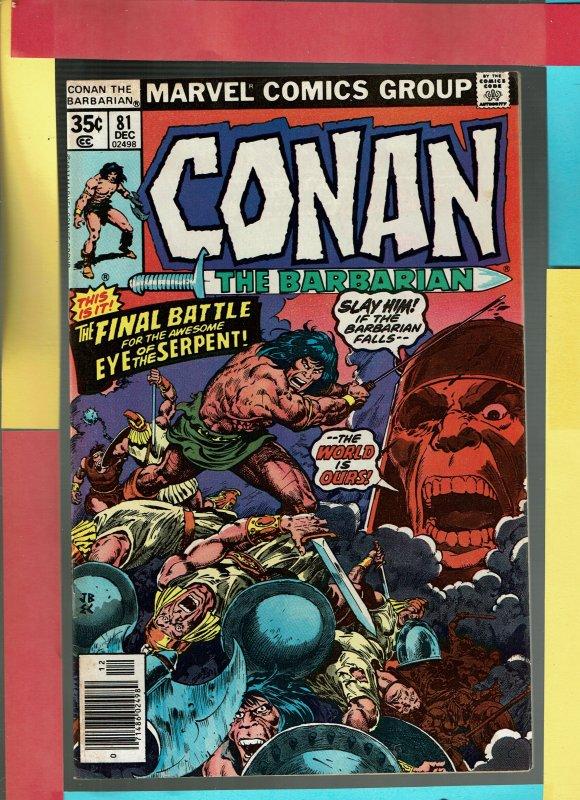 CONAN THE BARBARIAN 81
