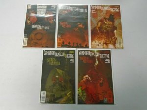Sandman Mystery Theatre Sleep of Reason set #1-5 8.0 VF (2006)