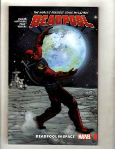 In SPACE Deadpool Vol 9 Marvel Comics TPB Graphic Novel Book X-Force J370