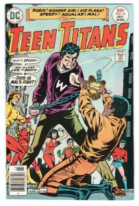 TEEN TITANS #45-1976-DC-1st BUMBLEBEE-Kid Flash-Wonder Girl-Robin-comic book