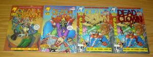 Dead Clown #1-3 VF/NM complete series + red foil variant SUPER HEROES MUST DIE
