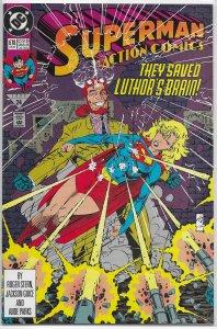 Action Comics   vol. 1   #678 FN