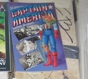 The Adventures of Captain America #3+4 (Jan 1992, Marvel) bucky red skull