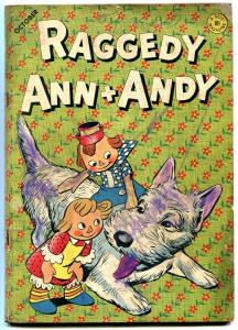 RAGGEDY ANN AND ANDY #5 1946-DELL COMIC-WALT KELLY ART VG-