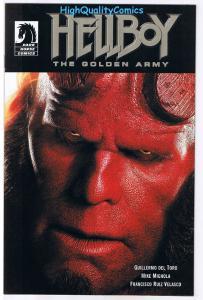 HELLBOY : GOLDEN ARMY,  NM-, Promo, Mignola, Photo cv, 2008