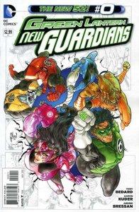 Green Lantern: New Guardians #0, NM + (Stock photo)