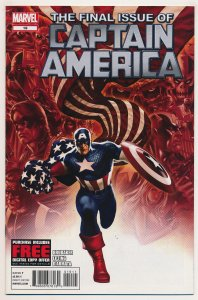 Captain America (2011 6th Series) #19 NM Last issue of the series