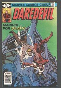 Daredevil #159 1979-Marvel-Frank Miller art-Glossy cover-VG/FN