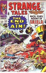 Strange Tales #149 (Oct-66) FN/VF Mid-High-Grade Nick Fury, Dr. Strange