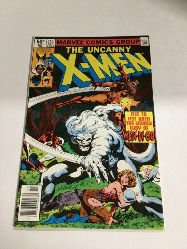 Uncanny X-Men 140 Nm Near Mint Marvel