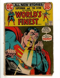 8 DC Comics World's Finest # 213 222 229 231 232 237 241 Shazam! # 10 J461