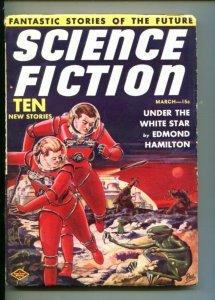 SCIENCE FICTION #1-03/1939-ALIEN MENACE-FRANK R. PAUL COVER vf