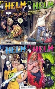HELM (2008 DH) 1-4  Bart Sears  COMPLETE!