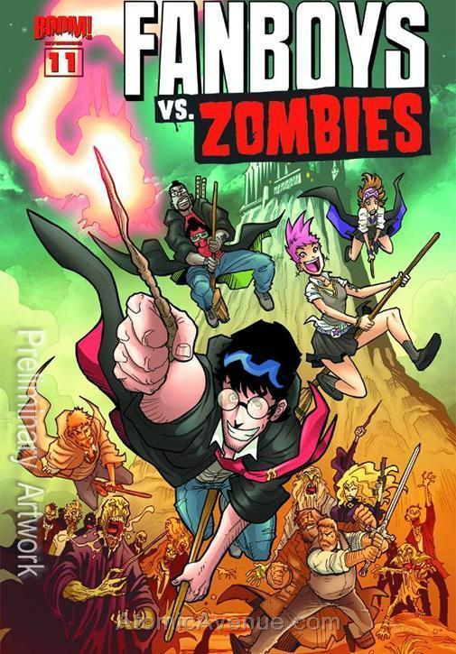 Fanboys Vs. Zombies #11A VF/NM; Boom! | save on shipping - details inside