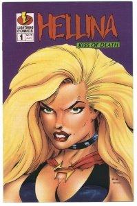 Hellina: Kiss of Death #1 - Lightning Comics - July 1995