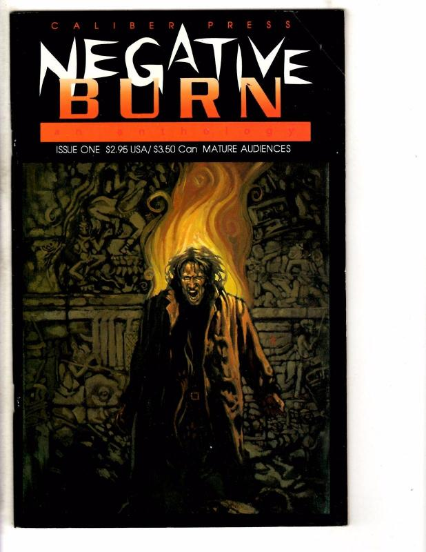 Lot Of 9 Caliber Comic Books # Playground Twilight People LOST Burn + MORE J227