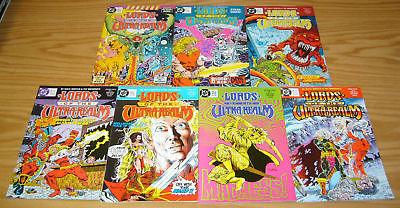 Lords of the Ultra Realm #1-6 VF/NM complete series + special DOUG MOENCH set