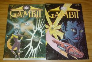 Gambit #1-2 VF complete series - oracle comics set - scott bieser 2