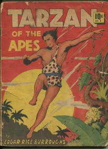 TARZAN OF THE APES #5 1939-DELL-P/FR