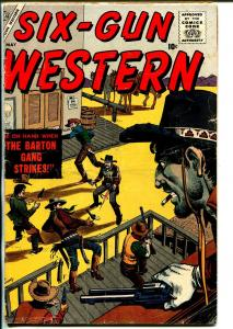 Six-Gun Western #3 1957-Atlas-Joe Maneely-Gene Colan-Dick Ayers-Bob Powell-VG