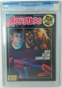Famous Monsters #187 ~ 1982 Warren ~ CGC 9.4 NM ~The Thing and Creepshow Preview