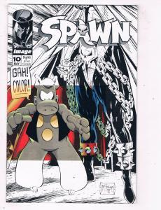 Spawn #10 NM Image Comics Comic Book McFarlane May 1993 DE48