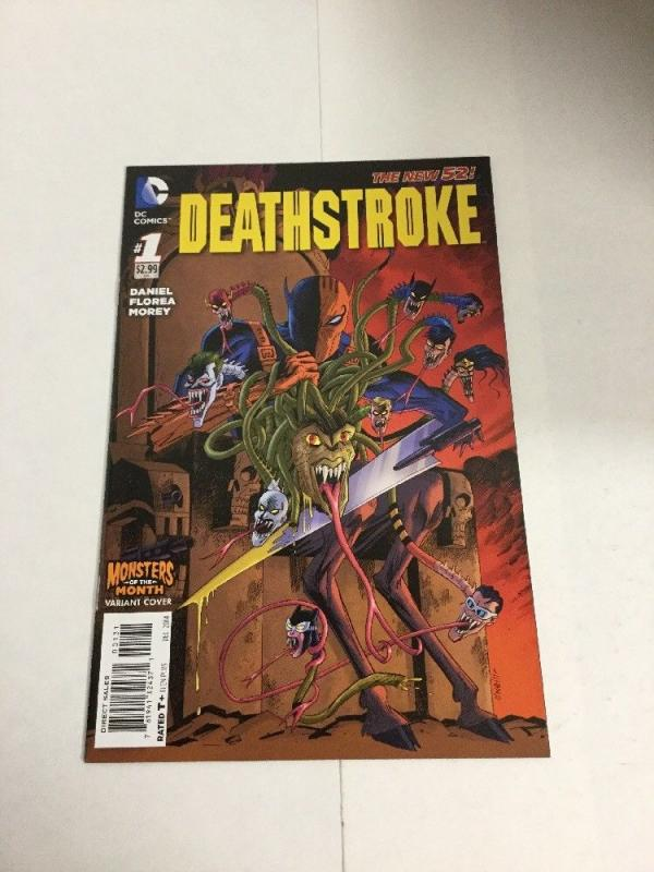 Deathstroke 1 Monsters Variant Nm Near Mint DC Comics