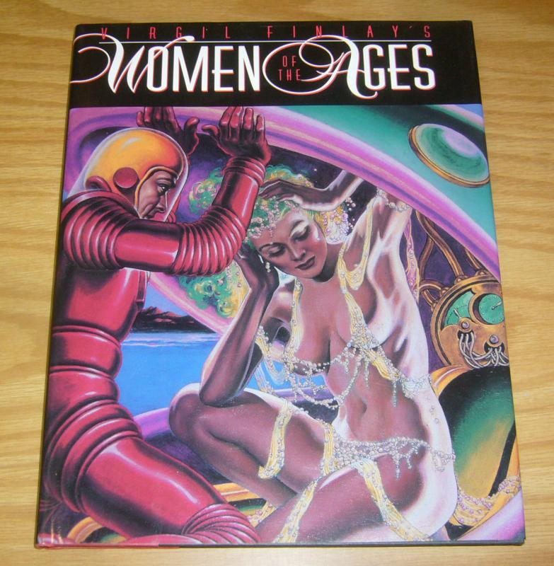 Virgil Finlay's Women of the Ages HC VF/NM hardcover book from 1992