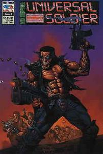 Max Brewster: The Universal Soldier #3 VF/NM; Fleetway Quality | save on shippin