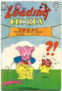 Leading Comics #58 1952- Peter Porkchops- Golden Age DC- VF-