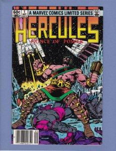 Hercules Prince of Power #1 VG/FN 1982