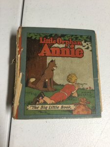Little Orphan Annie Incomplete Drawn On Big Little Book
