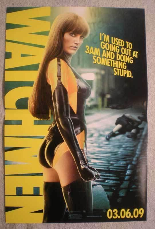 WATCHMEN Promo Poster, Movie,  11x 17, 2009, Unused, more Promos in store