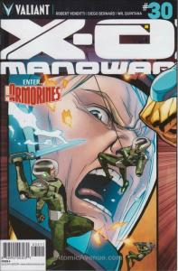 X-O Manowar (3rd Series) #30A VF; Valiant | save on shipping - details inside