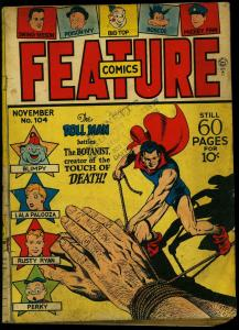 FEATURE COMICS #104 1946-DOLL MAN-MICKEY FINN-BLIMPY    G/VG