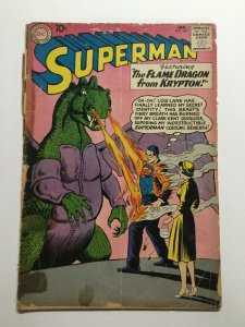 Superman 142 Good Gd 2.0 Cover Detatched Dc Comics