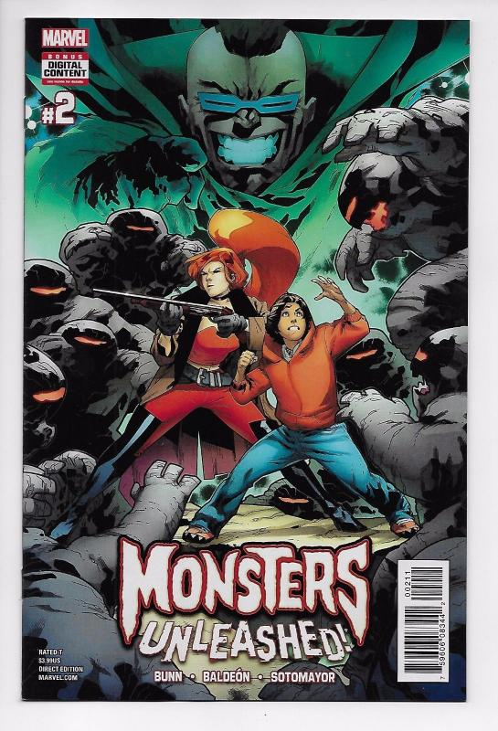 Monsters Unleashed #2 - Cullen Bunn (Marvel, 2017) - NewUnread (NM)