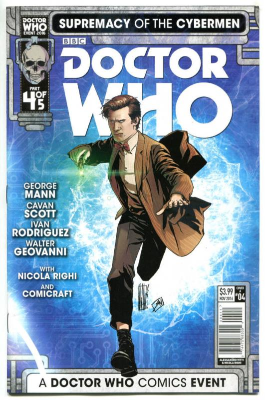 DOCTOR WHO Supremacy of the CYBERMEN 4 A, NM, Tardis, 2016, 1st,more DW in store
