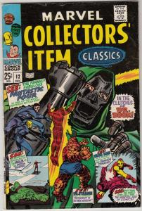 Marvel Collectors' Item #12 (Dec-67) FN/VF Mid-High-Grade Fantastic Four, Mr....