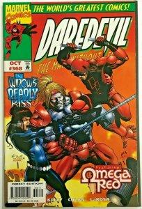 DAREDEVIL#368 VF 1997 OMEGA RED MARVEL COMICS