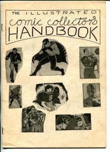 Illustrated Comic Collectors Handbook #1 '66-1st issue-Golden Age superheros-FN-