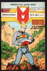 MIRACLEMAN #9-1986-ECLIPSE-COPPER AGE-NICE COPY-HIGH GRADE-NM